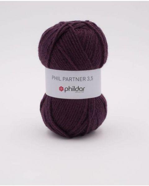 Phildar Partner 3,5 kl.Prune