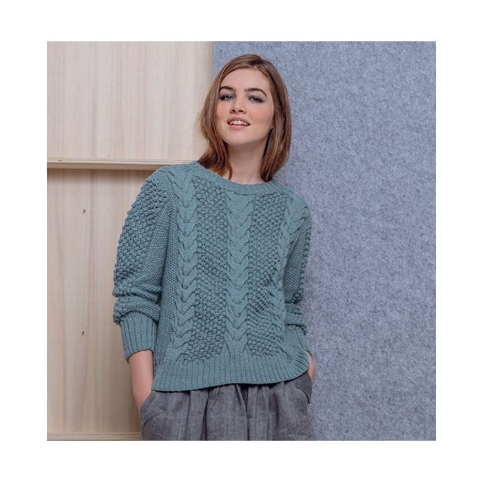 Phildar dames trui breien van Partner 3,5 | C.R. Couture
