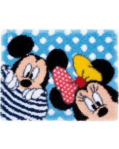 Knoopkleed Mickey en Minnie kiekeboe Disney Disney  Vervaco pn-0167700