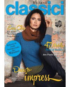 Breimagazine Filati Classici uitgave 6 winter/herfst 2014-2015 van Lana Grossa.