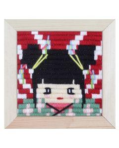 Borduurpakket Geisha in spansteek pako 079.733