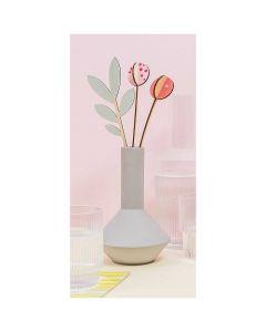 Houten 3D tulpen Rico design 08795.03.40