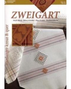 Zweigart Hardanger kreuz & quer boekje nr 102/158