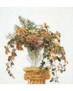 Borduurpakket herfst boeket van Thea Gouverneur aida 1083