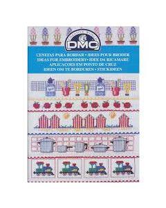 Borduurboekje met motieven voor baby's van Dmc