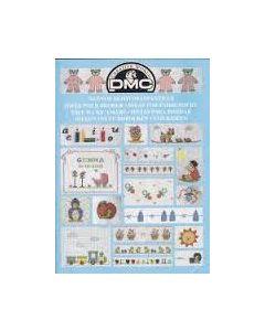 Borduurboekje voor baby's van Dmc