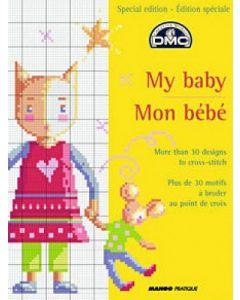 Borduurboekje mijn baby van DMC