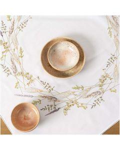 Voorbedrukt tafelkleed grassen Rico Design 150102 borduren 95x95cm