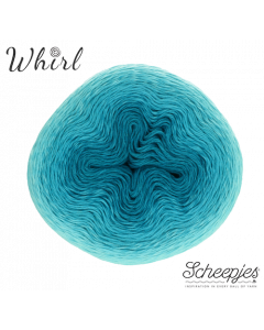 Scheepjes Whirl Ombre kl.559 Turquoise Turntable