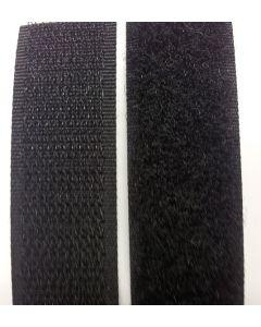 Zwart klittenband