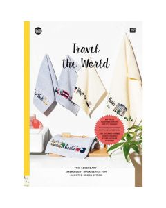 Rico Design borduurboek travel the world 165 met borduurpatronen