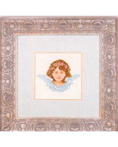 Lanarte borduurpakket Engel in roze - Poetry in pink borduren 34981