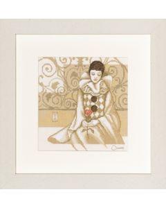 Lanarte borduurpakket Pierrot 35048