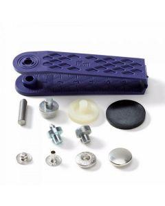 Prym anorak vernietbare drukknopen - 15mm zilver 10 stuks