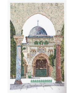 Borduurpakket Al-Aqsa Mosque van Thea Gouverneur 534a aida