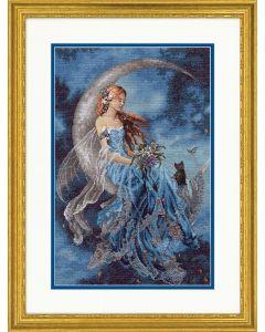 Borduurpakket wind maan fee  borduren van Dimensions  gold collection 70-35393