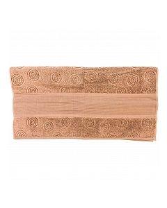 Rico Design baddoek met aida rand om te borduren bruin 740203.66