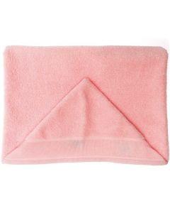 Rico Design baby cape met aida rand op capuchon om te borduren roze 740269.65