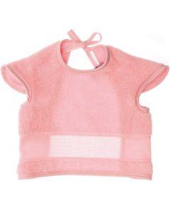 Baby slab met mouwtjes en aida rand om te borduren roze Rico Design 740269.76