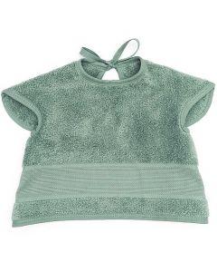 Baby slab met mouwtjes en aida rand om te borduren licht grijs Rico Design 740224.76