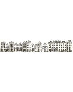 Borduurpakket city street Amsterdam van Thea Gouverneur aida