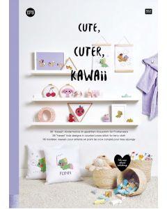 Rico Design borduurboek cute cuter kawaii Nr.175