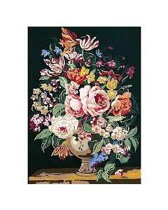 Voorbedrukte stramien vaas met bloemen van Seg de Paris 929.223