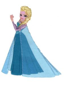Applicatie Frozen Elsa de sneeuwkoningin