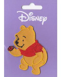 Winnie de Poeh met kapoentje applicatie van Disney.
