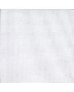 Borduurstof  Aida 6 pst/cm - 16 ct blanc  156 cm breed