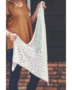 Borgo de Pazzi Pima Silk sjaal breien uit het magazine Let's Get Creative