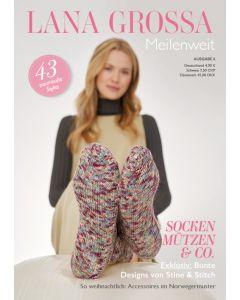 Boek Lana Grossa Meilenweit sokken breien
