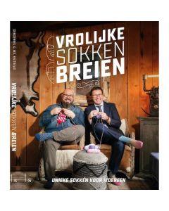 Boek Vrolijke sokken breien van Dendennis en Mr. Knitbear + gratis bol Jawoll