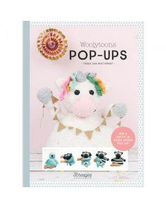 Boek Woolytoons Pop-Ups Tessa van Riet-Ernst.