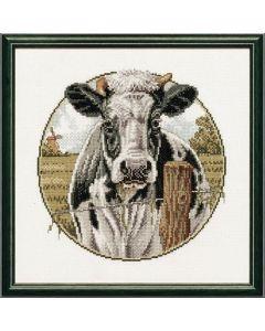 Pako borduurpakket  koe in de wei 238.555