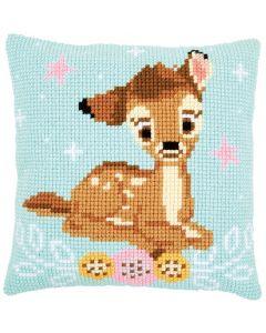 Borduurpakket borduurkussen kruissteek Bambi Disney Vervaco  PN-0172098