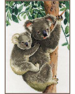 Borduurpakket koala met baby van Vervaco pn-0158414