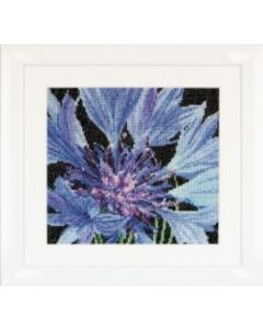 Borduurpakket korenbloem Thea Gouverneur 489 cornflower
