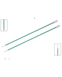 Knit Pro Zing breinaald met knop 3.25mm, 40cm lang
