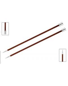 Knit Pro Zing breinaald met knop 5.5mm, 40cm lang