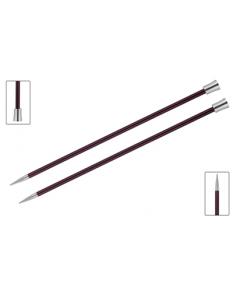 Knit Pro Zing breinaald met knop 6.0mm, 40cm lang