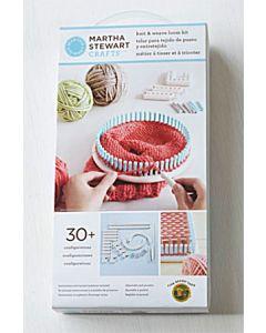 Martha Stewart Crafts brei & weef loom kit