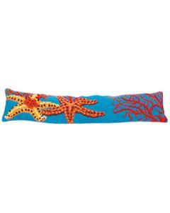 Voorbedrukt kruissteek Kussenpakket zeesterren en koraal Collection d'Art