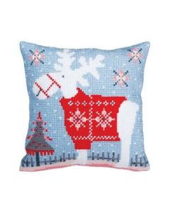 Chirstmas Deer Collection d'Art 5356