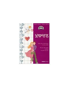 Borduurboekje liefde van DMC