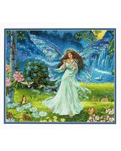 Dimensions borduurpakket spring fairy - lente fee 70-35354 borduren