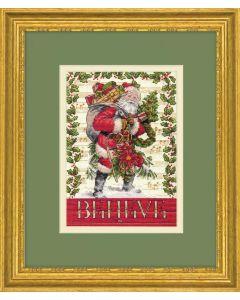 Dimensions borduurpakket Believe in Santa borduren 70-08980