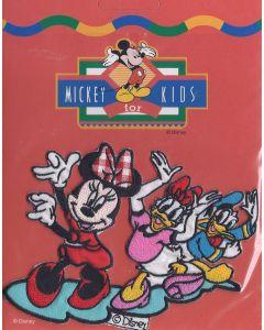Minnie Mouse, Katrien en Donald Duck applicatie van Disney.