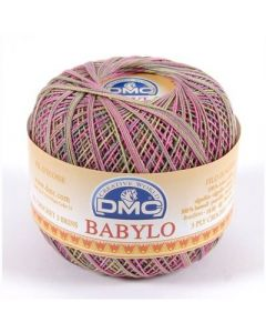 DMC Babylo Multicolor nr.30 kl.4502 groen paars 50gram