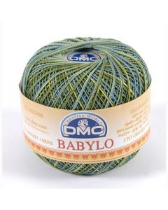 DMC Babylo Multicolor nr.30 kl.4506 groen blauw geel 50gram